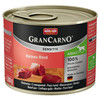 Animonda GranCarno Adult Sensitive reines Rind 200 g - 6 Stück