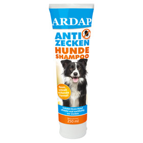 (51,56 EUR/l) Ardap Anti Zecken-Shampoo 250 ml