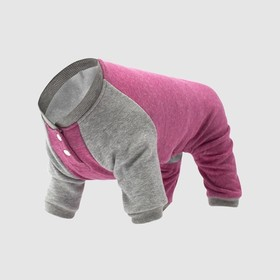 Canada Pooch Fleeceanzug Frosty Fleece Sweatsuit Pink