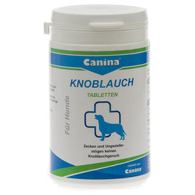 (5,99 EUR/100g) Canina Knoblauch Tabletten 180 g