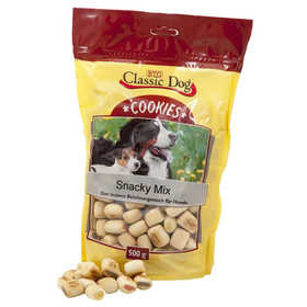 (3,98 EUR/kg) Classic Dog Cookies Snacky Mix 500 g