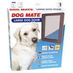 Dog Mate Hundetür Large 216 B braun
