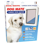 Dog Mate Hundetür Large 216 W weiß