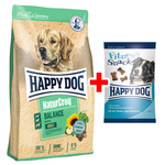 Happy Dog NaturCroq Balance 4 kg + Fitness Snack 100 g