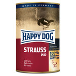 Happy Dog Strauß Pur 400 g - 12 Stück