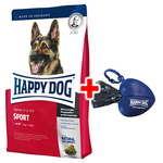Happy Dog Supreme Fit & Well Adult Sport 15 kg + Kotbeutelspender gratis