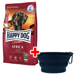 Happy Dog Supreme Sensible Africa 10 kg + Faltnapf gratis