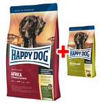 Happy Dog Supreme Sensible Africa 12,5 kg + Neuseeland 300 g
