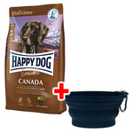 Happy Dog Supreme Sensible Canada 12,5 kg + Faltnapf gratis