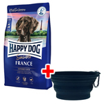 Happy Dog Supreme Sensible France 12,5 kg + Faltnapf gratis
