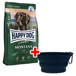 Happy Dog Supreme Sensible Montana 10 kg + Faltnapf gratis