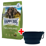 Happy Dog Supreme Sensible Neuseeland 12,5 kg + Faltnapf gratis