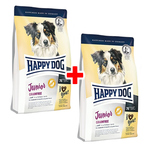 Happy Dog Supreme Young Junior Grainfree 1 kg - 1 + 1 Aktion