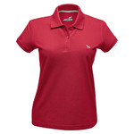 Hunter Damen-Poloshirt rot