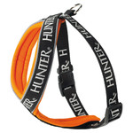 Hunter Geschirr Neopren Oakland orange/schwarz