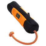Hunter Trainer Snack Dummy mit Seil orange/schwarz