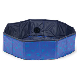Karlie Doggy Pool Design blau, Maße: ř 120 x 30 cm