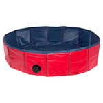 Karlie Doggy Pool blau/rot