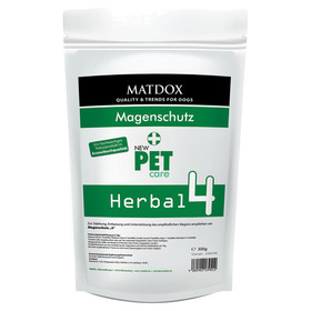 (52,63 EUR/kg) MATDOX New PET care Herbal 4 Magenschutz 300 g