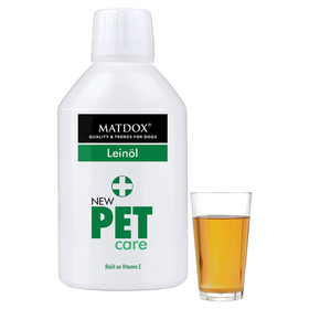 (27,56 EUR/l) MATDOX New PET care Leinöl 250 ml