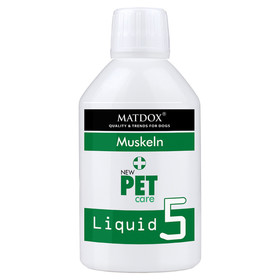 (59,16 EUR/kg) MATDOX New PET care Liquid 5 Muskeln 250 g