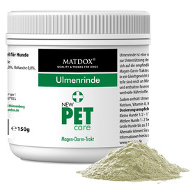 (12,53 EUR/100g) MATDOX New PET care Ulmenrinde 150 g