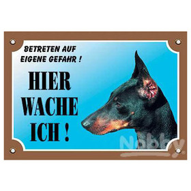 Nobby Warntafel Dobermann