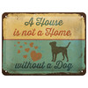 Nostalgic-Art Blechschild A House is not a Home 20 x 15 cm