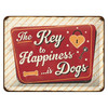 Nostalgic-Art Blechschild Key to Happiness 15 x 20 cm