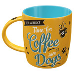 Nostalgic-Art Tasse Coffee and Dogs