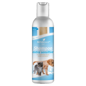 (6,95 EUR/100ml) NovaGard Green Shampoo Extra Sensitive für Hunde 200 ml