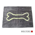 Wolters Dirty Dog Doormat cool-gray/lime