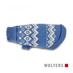 Wolters Norweger Pullover sky blue/riverside blue